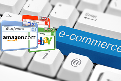 E-commerce shopping.