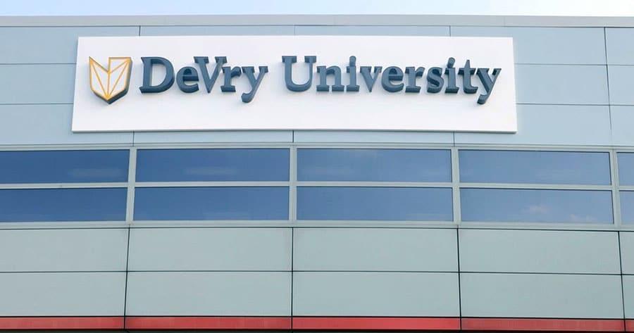Keller Graduate School of Management, DeVry University